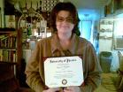 My first Degree