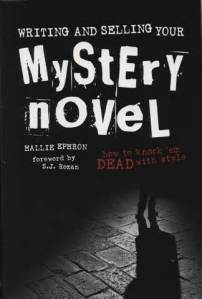 My favorite reference book when writing my mystery novels.
