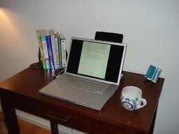creating writing space