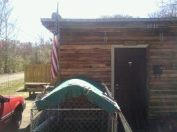Old shed redone